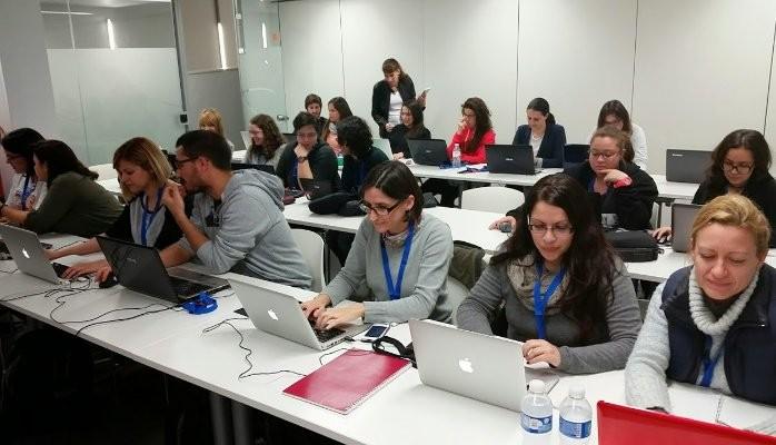Encuentro de mujeres programadoras en la SPEGC